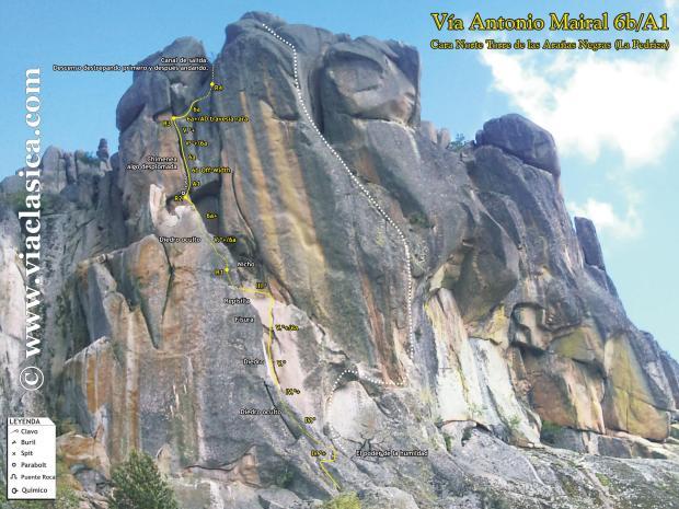 Antonio Mairal - Torre Arañas Negras
