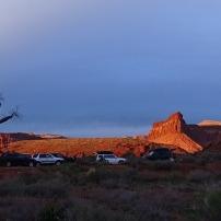 Panorámica desde el campground