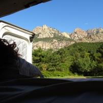 Visualizando el día desde la cama..