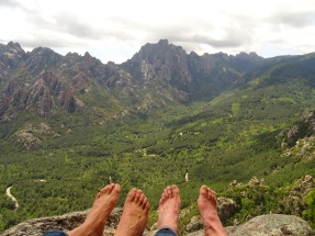 Disfrutando de las vistas!